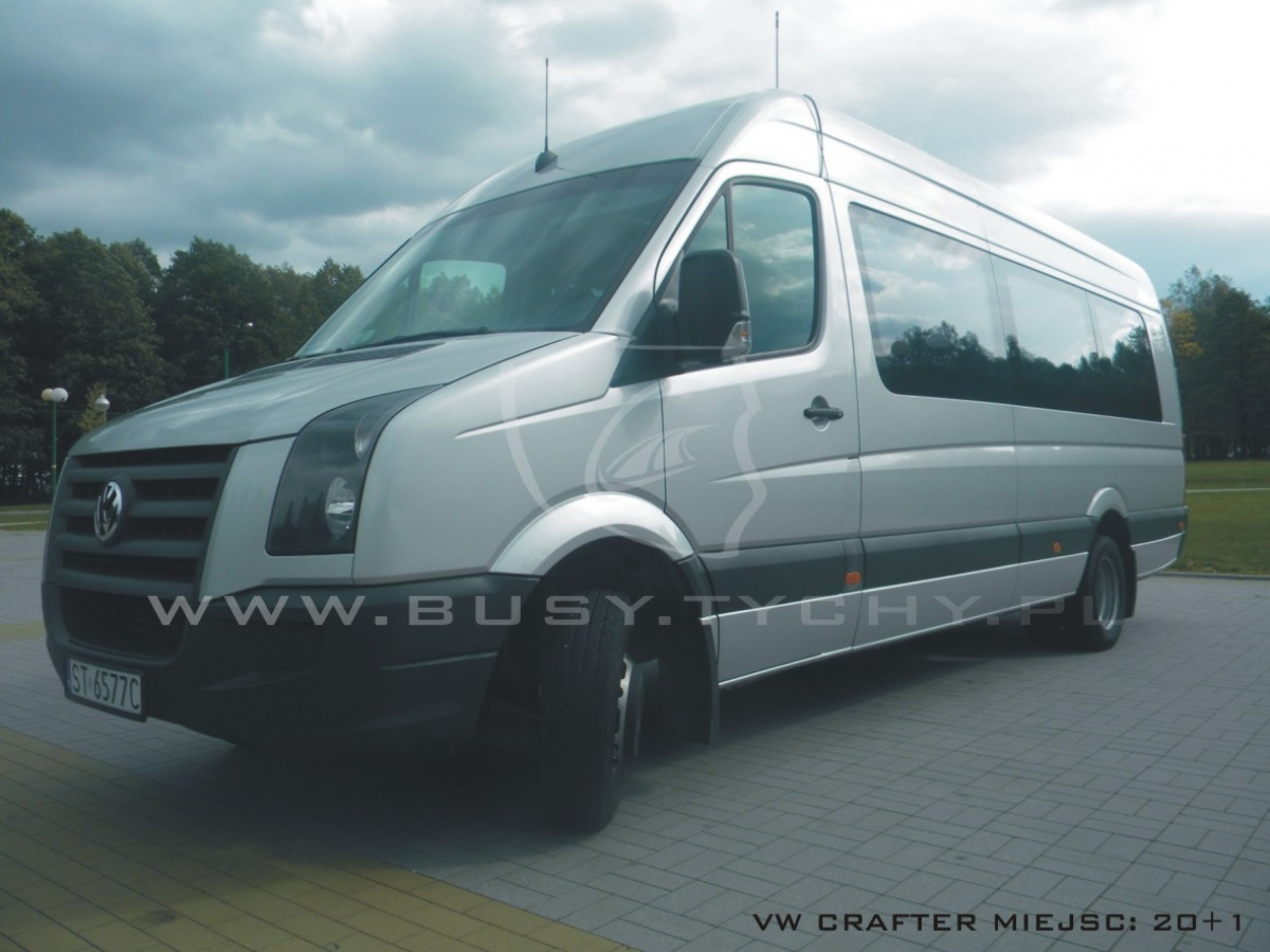 Vw crafter busy tychy